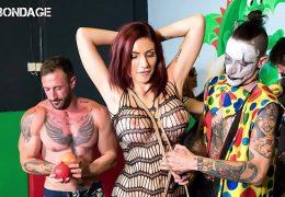 FORBONDAGE – Busty Romanian MILF Amina Danger It Really Enjoys Having BDSM Group Sex