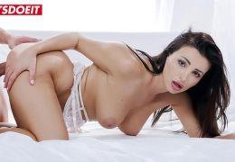 LETSDOEIT – Big Tits Latina Brunette Alyssia Kent Knows To Handle Big Cock In Erotic Sex