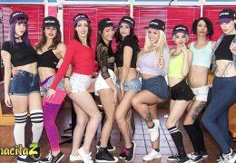 MAMACITAZ – Romanian Teen Julia De Lucia Goes Wild In A Hot Lesbian Latina Orgy